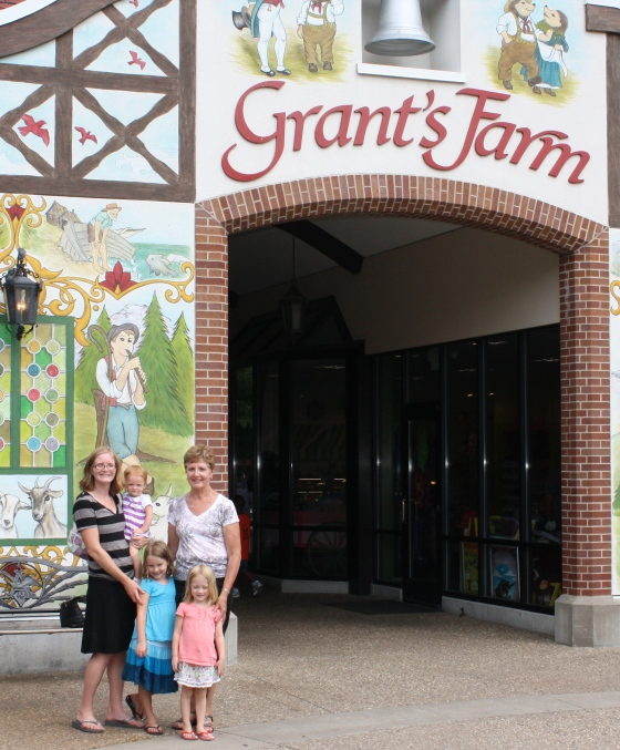 The girls at Grant's Farm