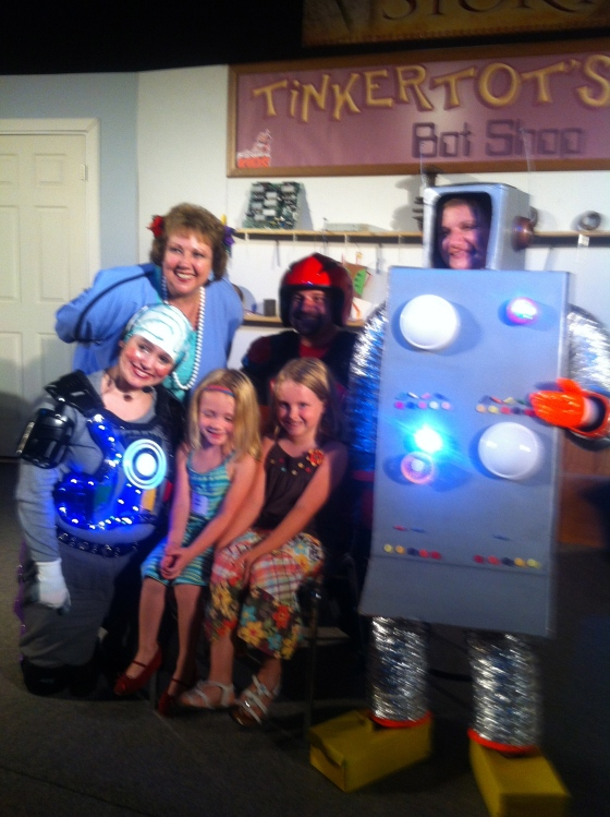 VBS: Frightening, if you ask me; but the girls loved it!